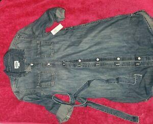 Old navy denim dress (girls size L 10-12)