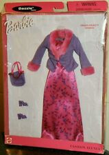 Barbie New Clothes: Fashion Avenue PINK & PURPLE AWARDS NIGHT 1999 #25755 NRFB
