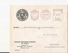 UTRECHT 1964 KNVB afd Utrecht roodfrankering