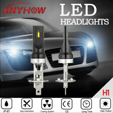 H1 Csp Led Headlight Conversion Fog Lamp 2x Bulbs High Low Beam 80W 6000K White