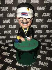 Autographed Stars of Poker Limited Edition Bobblehead Bobble Humberto Brenes