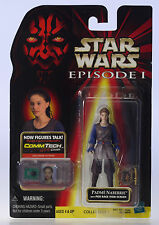 MOC STAR WARS Padme Naberrie Pod Race - Episode 1 CommTech Chip Figure NIP MOSC