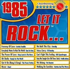 FREE US SHIP. on ANY 2 CDs! NEW CD Various Artists: Let It Rock 1985