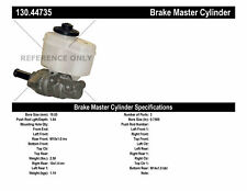 Brake Master Cylinder-Extended Cab Pickup Centric fits 2004 Toyota Tundra
