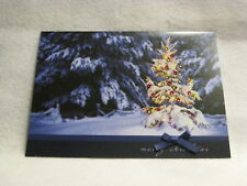 Burgoyne Handmade - Embellished Tree - Christmas Greeting Card - NEW