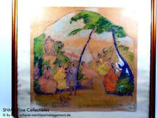 Porträts & Personen künstlerische Malerei Gouache