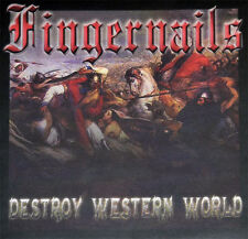 FINGERNAILS Destroy Western CD