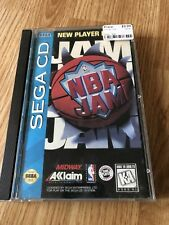 NBA Jam (Sega CD, 1994) Cib Game Nice Disk BT1