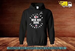 Won Not Done Division Champion KANSAS CITY CHIEFS Black Hoodie