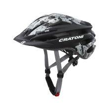CRATONI Fahrradhelm Pacer (MTB) Gr. S/M (54-58cm) schwarz/anthrazit matt (1 Stüc