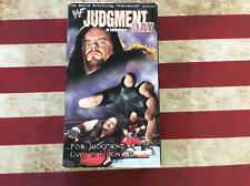 WWF Judgment Day In Your House VHS Video in original box tested works rare