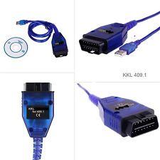 OBD 2 OBDII DIAGNOSIS dispositivo USB KKL k409 16pol para VW AUDI SEAT SKODA rs4 s4