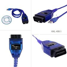 OBD 2 OBDII Diagnose Gerät USB KKL K409 16Pol für VW Audi Seat Skoda RS4 S4