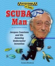 Scuba Man: Jacques Cousteau and His Amazing Underwater Invention-ExLibrary