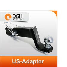 """Towbar ball adapter USA 2"""" hitch hook Land Range Rover & Sport / Evoque"""