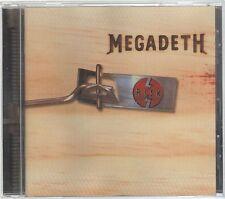 MEGADETH RISK  CD F.C. CAPITOL