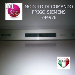 Scheda modulo di Comando Programmato Frigorifero Siemens Bosch 00744976