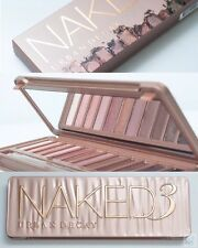 Hot sale 1/2/3 Eyeshadow NewBrand Naked Smoky Palette Woman Eye Shadow Kit Urban