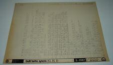 Microfich Ersatzteilkatalog VW Golf II 2 Typ 19E Synchro / Jetta  Stand 05/1987!