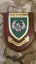 Cameronians Scottish Rifles Personalised Military Wall Plaque UK Made for MOD