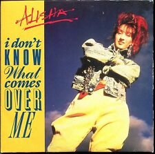 ALISHA - I DON'T KNOW WHAT COMES OVER ME - CARDBOARD SLEEVE CD MAXI