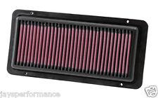 KN Filtre à air (33-2490) remplacement haut débit de filtration