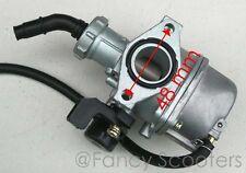 125cc Diablo Chopper's Carburetor B PZ 22 W/Manuel Chock