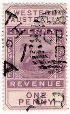 Western Australia Used Australian State & Territory Stamps