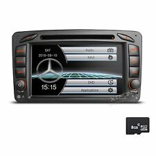 "for Mercedes-Benz W203 C Class 7"" GPS Navi Car DVD Radio Player Stereo Bluetooth"