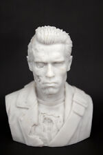 Terminator T800 Battle Damage version Arnold bust statue Blank Model 12cm H