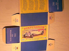 REPLIQUE  BOITE MERCEDES SS 36/220 1928 / MATCHBOX YESTERYEAR 1964