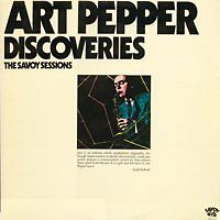 ART PEPPER Discoveries The Savoy Sessions US Press 2 LP
