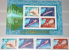 SOMALIA 1979 288-91 Block 9 481-84a Fische Fish Fauna Sea Life Meerestiere MNH