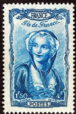 FRANCE COIFFE D ILE DE FRANCE   TIMBRE NEUF N° 595  **  MNH 1943  B4
