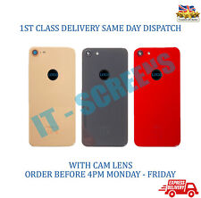 New Replacement Apple iPhone 8 Back Battery Cover Glass Panel Case Camera Lens