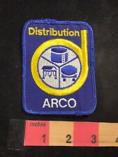 Vtg ARCO DISTRIBUTION Advertising Patch 80B9