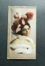 American Tobacco Company ATC Cigarette Card c 1900 Beauties - Old Gold Back