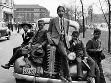 Sunday's Best (1941) South Side Chicago Boys Sitting on Car 24x36 Poster Print