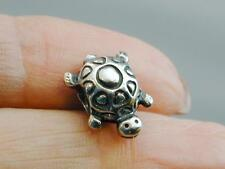 Authentic Pandora ALE Sterling Turtle Charm Retired