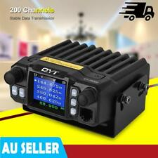 Car Walkie Talkie VHF/UHF 136-174/400-480MHz 200 CH Mobile Radio CB Transceiver
