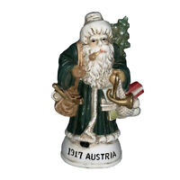 Old World Santa Hand Painted Porcelain Christmas Figurine 1917 Austria Countries