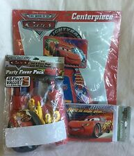 NEW Disney Pixar Cars Hallmark Party Express Lot - Centerpiece Invitations Pack