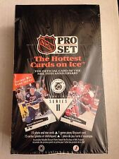 Unopened Box of 1991-92 Pro Set Hockey Series 2