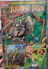Topps Comics Jurassic Park #1 Signed, Sealed, And Graded!