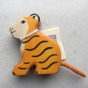 Holztiger Tiger cub, sitting 80138 BNWT