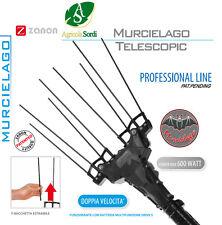 MURCIELAGO TELESCOPICO ABBACCHIATORE AL200/M SENZA BATTERIA RACCOLTA OLIVE 600W
