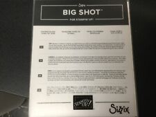 Stampin Up Big Shot Sizzix STAINED GLASS Thinlits Dies 146347, discontinued