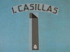 Spanish La Liga 2014-2015 Real Madrid #1 I. Casillas Homekit NameSet Printing