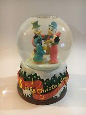 Vintage Disney Christmas Musical Water Snowglobe