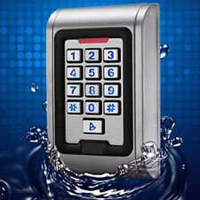 Metal Case Access Controll Waterproof IP68 RFID EM Reader Keypad 2000 users
